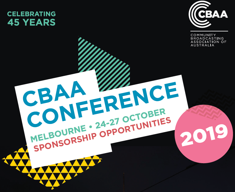 CBAA Conference Sponsorship Opportunities
