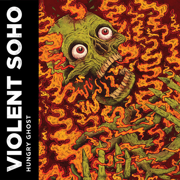 album art for Violent Soho's Hungry Ghost