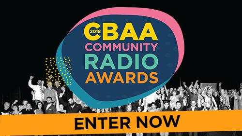 Enter the CBAA Awards banner