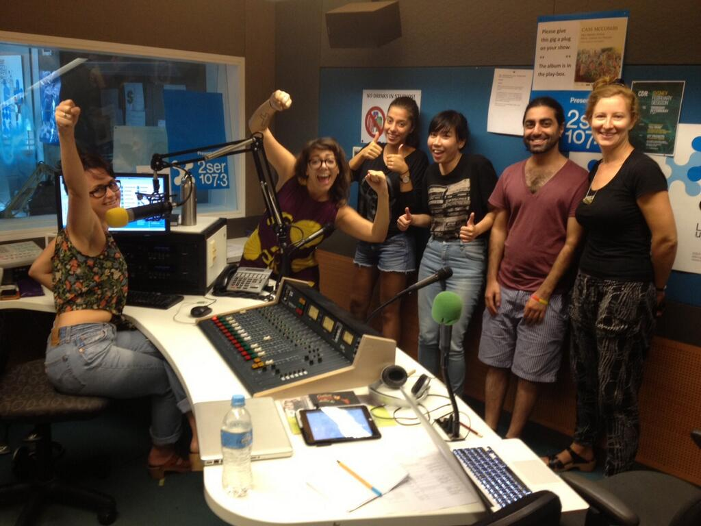 Girls To The Mic! Live at 2ser