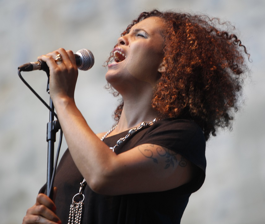 Photo of Neneh Cherry in concert