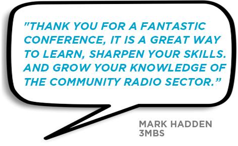 Conference Testimonial Mark Hadden
