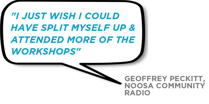 Conference Testimonial Geoff Peckitt