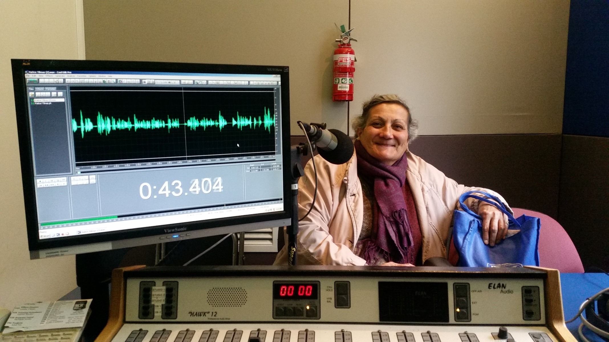 Hatice at 3CR Melbourne