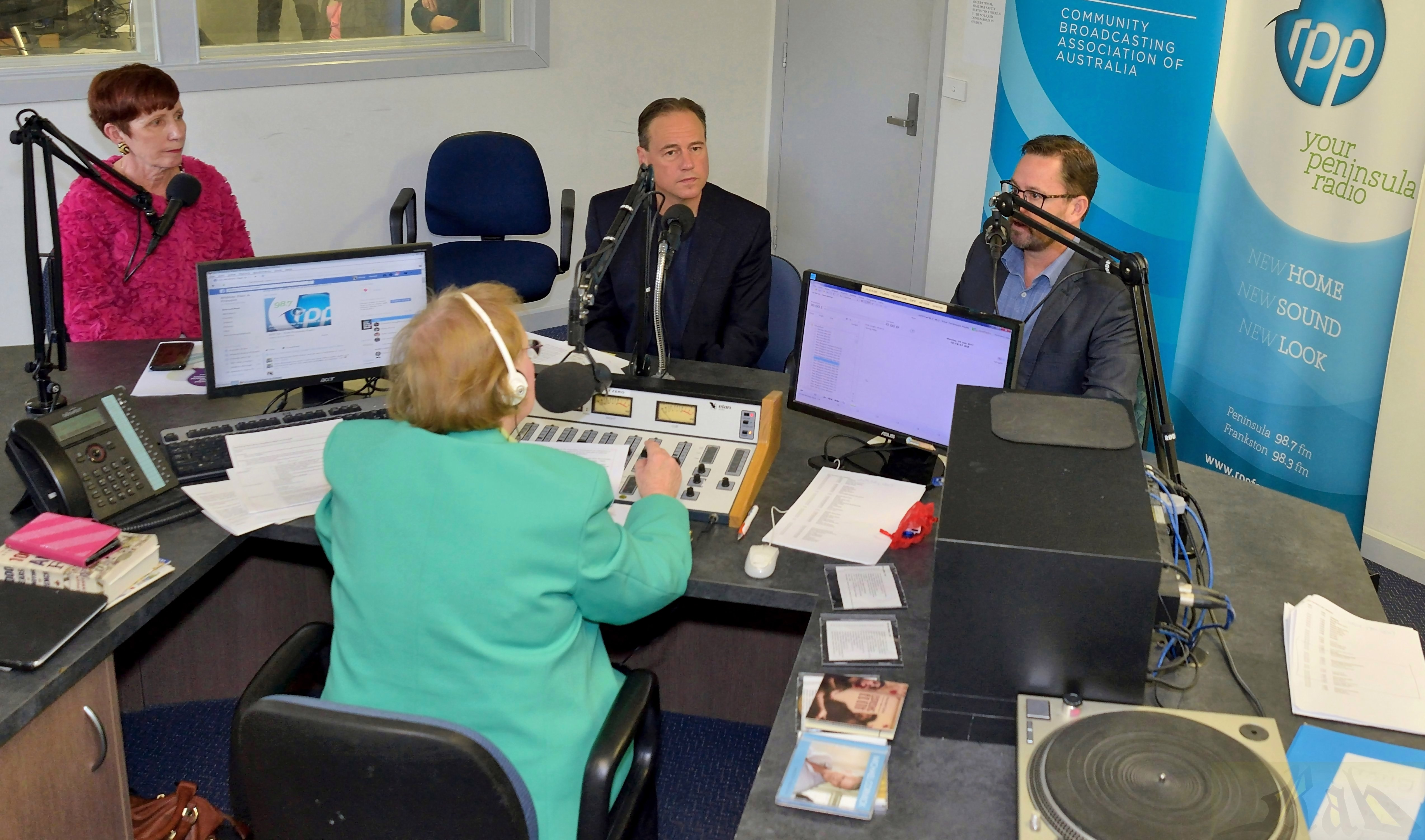 Launch of 2017 - 2019 Suicide Prevention Project at RPP FM