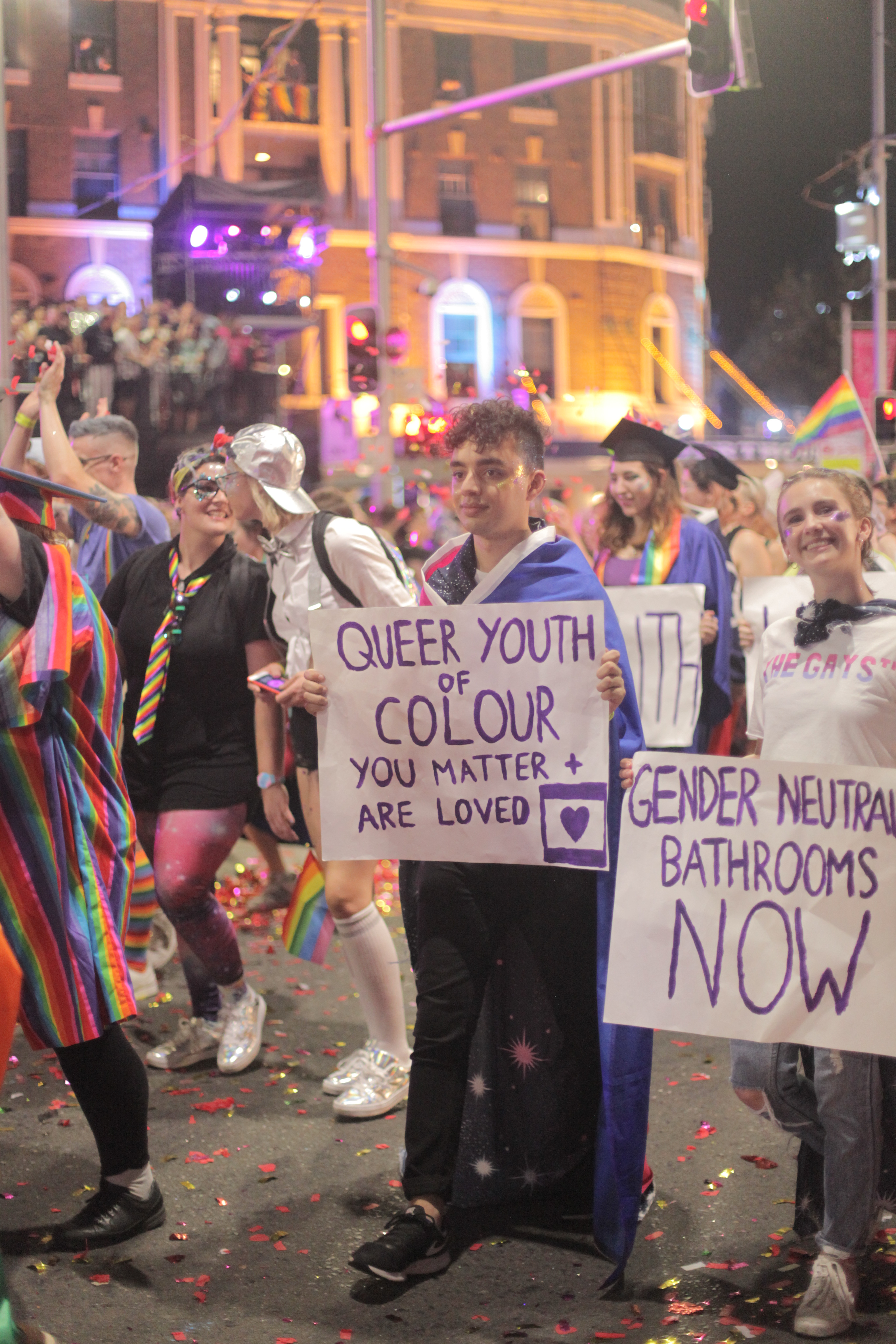 Queer youth sign