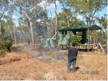 Campsite Burn