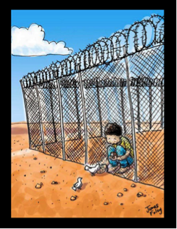 Illustration by James Foley, via jamesfoley.com.au