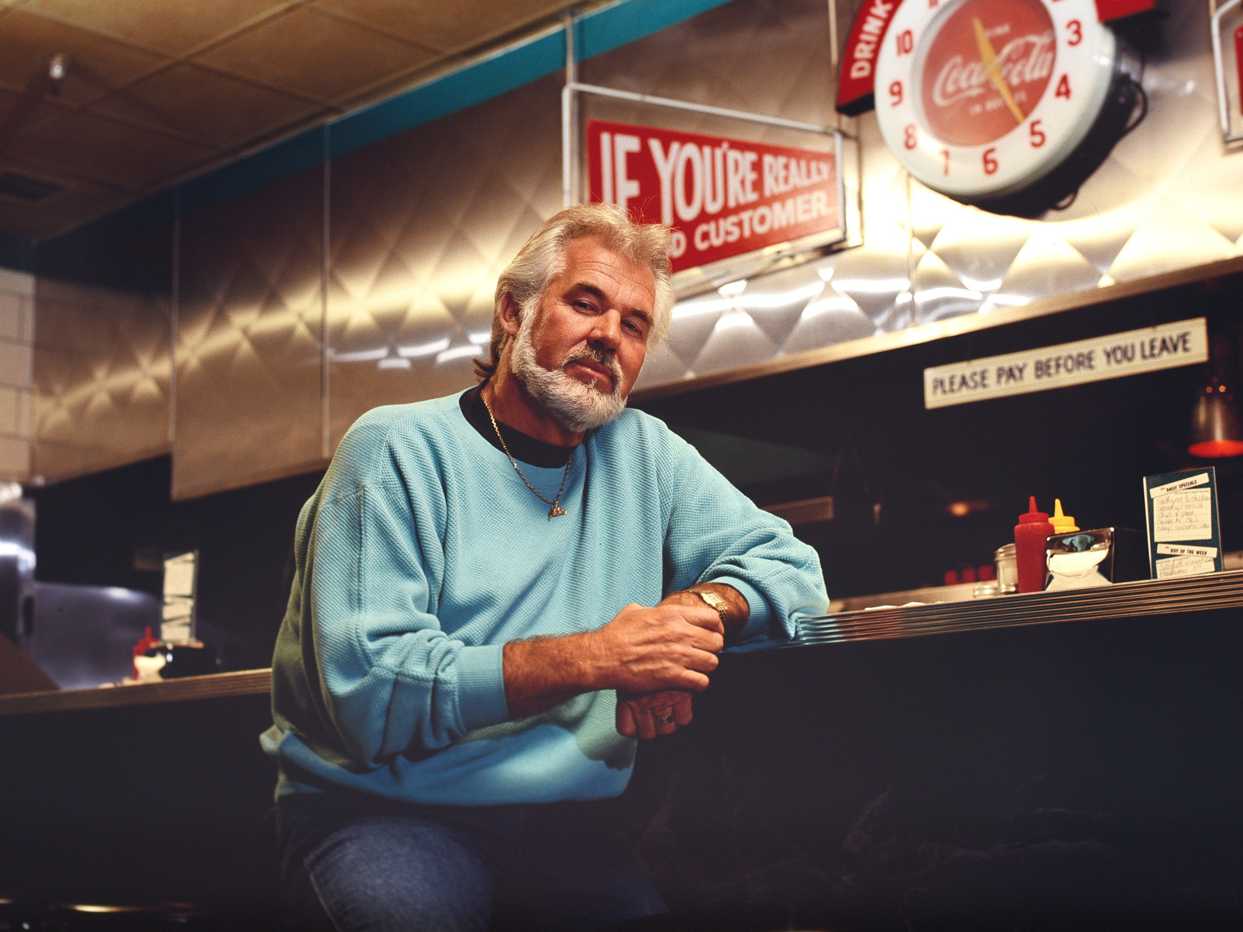 Kenny Rogers for the New Yorker