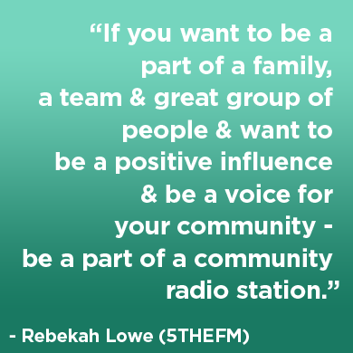 Rebekah Lowe - 5THEFM - quote