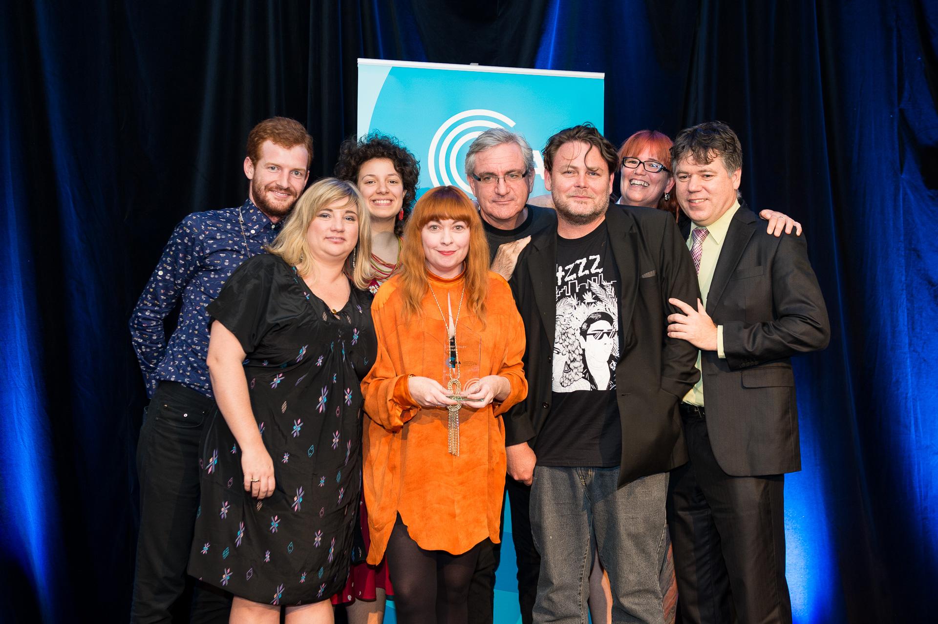 Tony Staley Award Winners - 4ZZZ