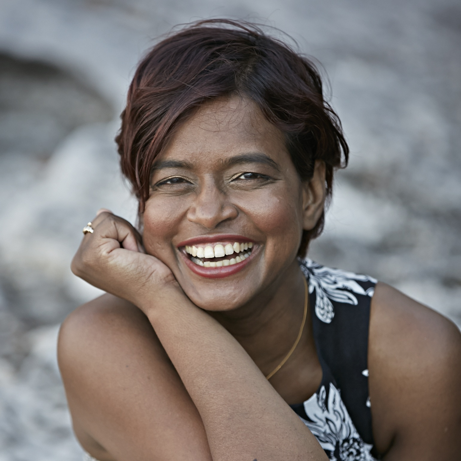 Portrait shot of vanita