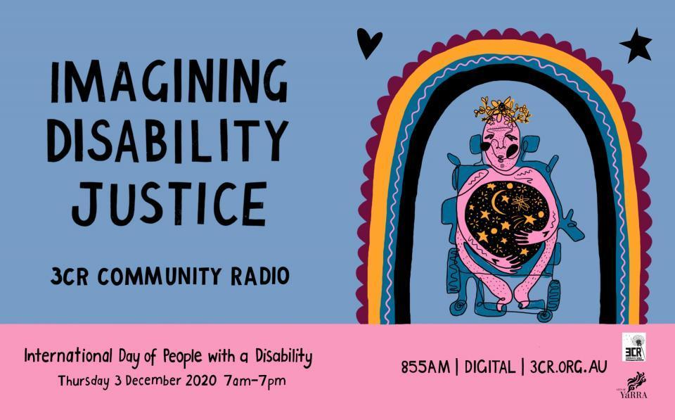 Imagining Disability Justice artwork