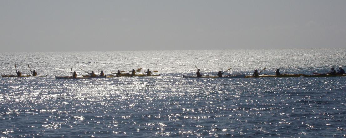Photo of people kayaking