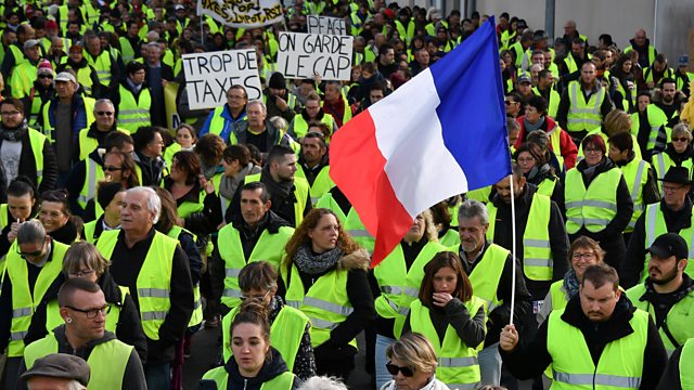Yellow Vest Protesters, France 2019