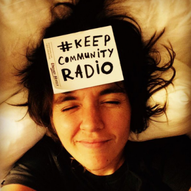 Courtney Barnett says Keep Community Radio