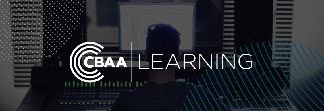 CBAA Learning - website header