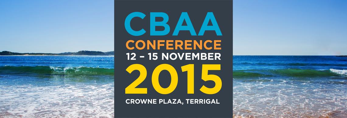 CBAA Conference 2015