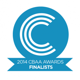 2014 CBAA Awards Finalists logo