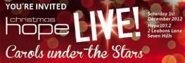 Hope Christmas Live Concert poster