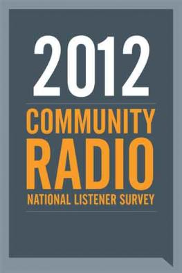 National Listener Survey 2012 poster