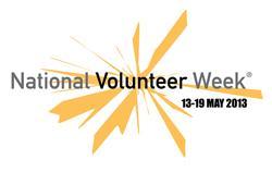 National Volunteer Week 2013 logo