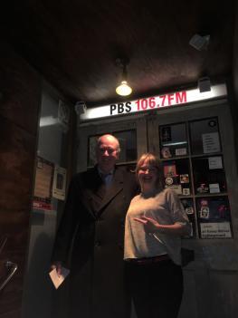 Richard Wynne MP and Lyndelle Wilkinson