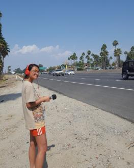 Thanh Hằng Phạm, Recording on Location