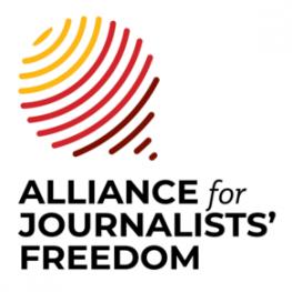 Alliance for Journalists Freedom logo