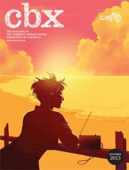 CBX November 2013 cover