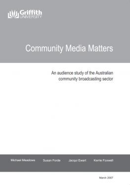 Community Media Matters