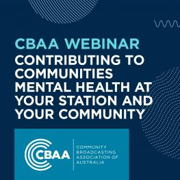 Contributing to Communities – Mental Health at Your Station and Your Community