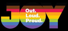 JOY Logo Rainbow