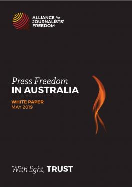Alliance for Journalists' Freedom White Paper