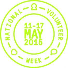 National Volunteer Week 2015 logo