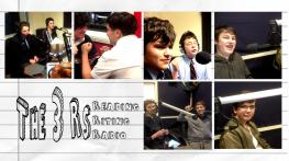 Boys Finding A Voice. Different boys in a radio studio, having fun and making radio