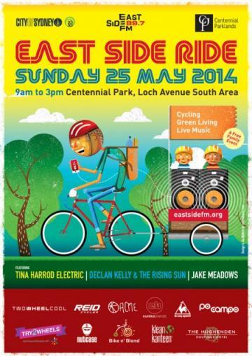 Eastside Ride Poster 2014