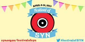 2013 Festival of SYN poster
