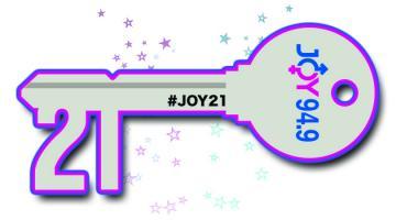 3JOY 21st Birthday Key image