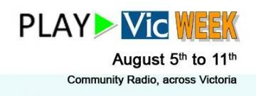 Play Vic Week logo