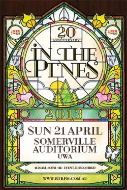 In The Pines 2013 poster