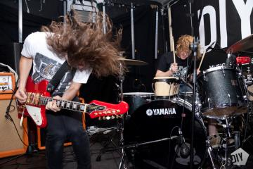 Photo of band playing