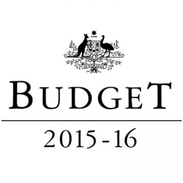 2015-2016 Federal Budget logo