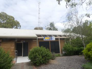 3REG Radio East Gippsland from outside