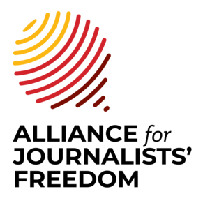 Alliance for Journalists Freedom logo