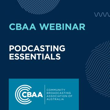 CBAA Webinar - Podcasting Essentials