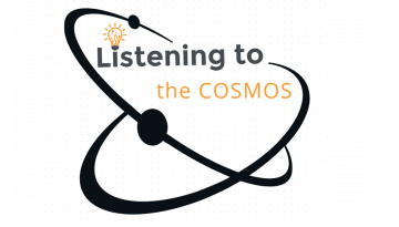 Listening to the Cosmos Logo