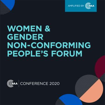 2020 CBAA Women & GNC Forum