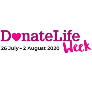 DonateLife Week 2020 logo