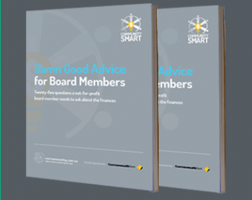 Damn Good Advice for Board Members Guide
